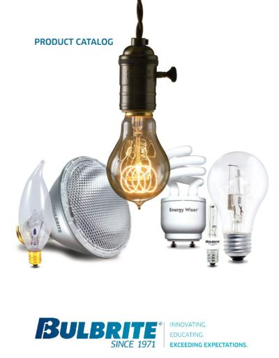 Bulbrite Issues New Lighting Product Catalogs
